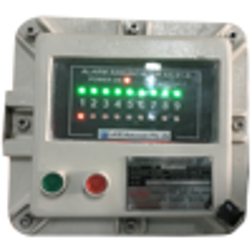 Flameproof Alarm Anunciator 9 channels