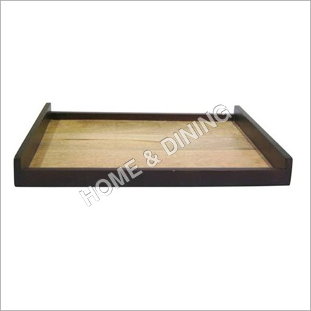RECT WOODEN TRAY