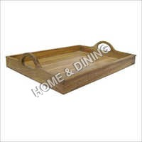 WOODEN TRAY UP HANDLE.