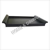 WOODEN TRAYS BLACK