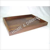 WOODEN TRAYS CORNER HANDLE