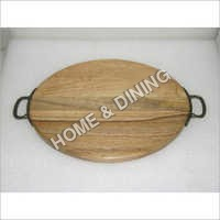 WOODEN TRAYS OVAL