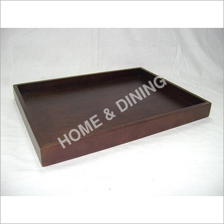 WOODEN TRAYS PLAIN