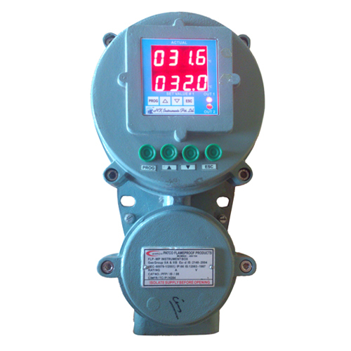 Process Indicator with Relay Controller Flameproof