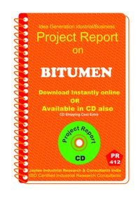 Bitumen manufacturing Project Report eBook
