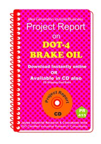 Dot-4 Brake Oil manufacturing Project Report eBook