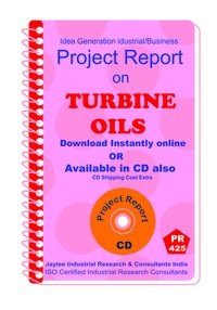 Turbine oils manufacturing Project Report eBook