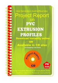 PVC Extrusion Profiles type B Manufacturing Project Report Book