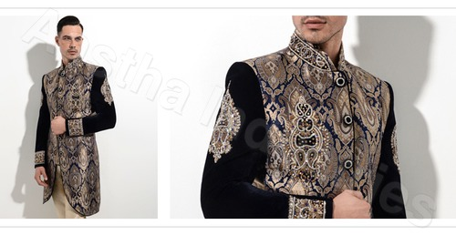 Laser Cutting Service on Sherwani