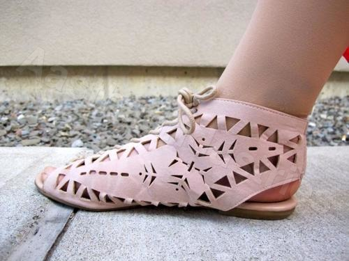 Laser Cutting Service on Shoe