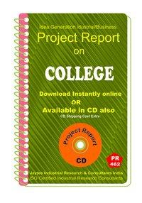 College Establishment Project Report eBook