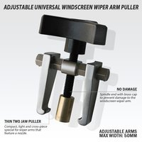 FIT TOOLS Adjustable Light Windscreen Wiper Arm Remover