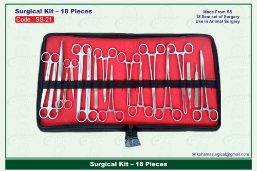 Surgical Kit- 18 Pieces