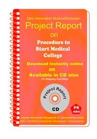 Procedure to start a new Medical College Establishment eBook