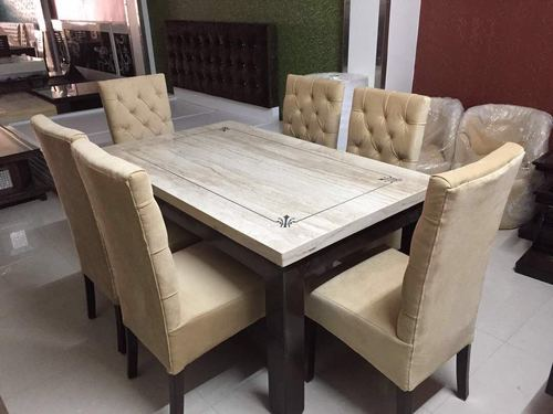 Dinning Set Marble Top