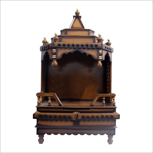 Teak Designer Wooden Temple