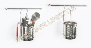Hanging Cutlery Holder (with 9 inch rod)