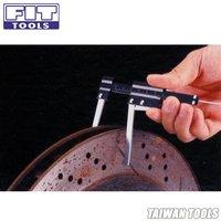 FIT TOOLS Auto Brake Disc Depth Gauge and Tire Tread Depth Measuring Caliper