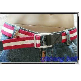 Colored Polyester Waist Belts