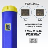 FIT TOOLS Made in Taiwan Adjustable Torque Screwdriver with 2 display 2 ~ 10 Nm