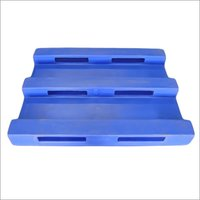 Plastic Roto Molding Pallet 3 Runner 4 Way Entry