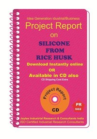 Silicone From Rice Husk manufacturing eBook