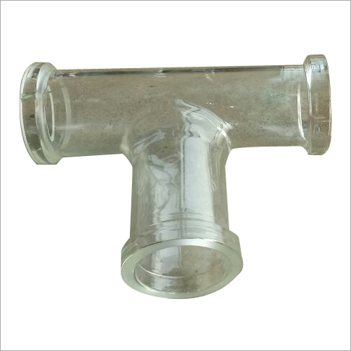 Glass T Connector Tube