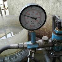 Pressure Testing Setup