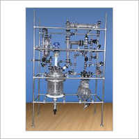 Scientific Glass Assembly For Chemical Plant