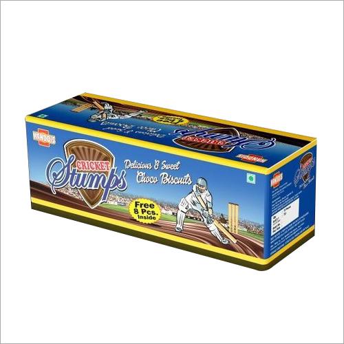 Cricket Stumps Choco Biscuit