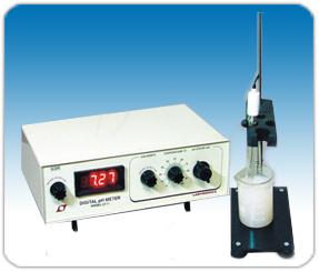 Digital pH, Conductivity & Temperature Meter