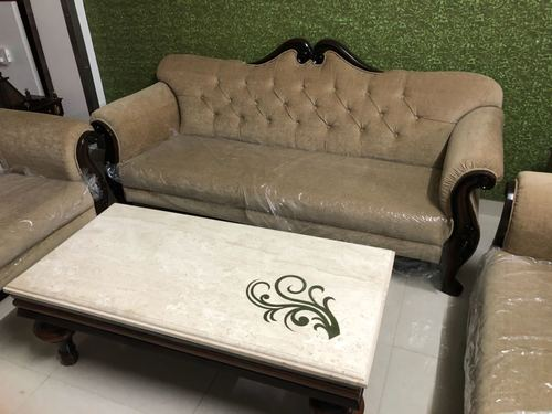 Center Table With Sofa Set