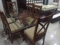 Dinning Set Glass Top