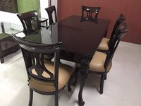 Dinning Set Wooden Top