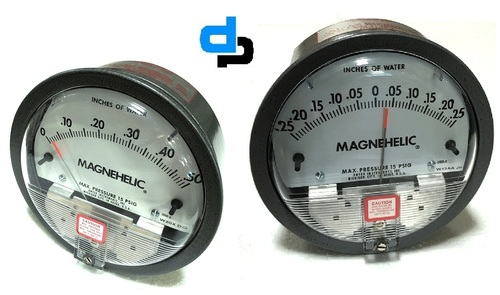 Dwyer USA Magnehelic Gauges 0 To 0.025 Inch WC