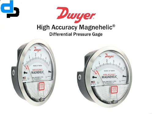 Dwyer USA Magnehelic Gauges 0 To 3.0 Inch WC