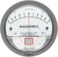 Dwyer USA Magnehelic Gauges 5-0-5 Inch WC
