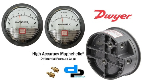 Dwyer USA Magnehelic Gauges 0 To 10 Inch WC