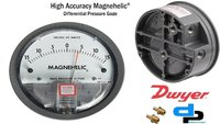 Dwyer USA Magnehelic Gauges 0 To 15 Inch WC