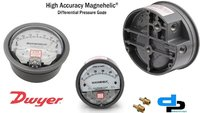 Dwyer USA Magnehelic Gauges 0 To 20 Inch WC