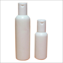 Cylindrical HDPE Bottle