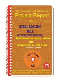 Steel Rolling Mill (By Induction Furnace) II manufacturing eBook