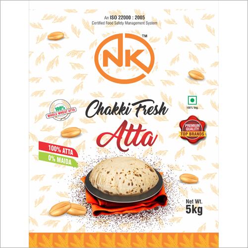 5 Kg Chakki Fresh Atta