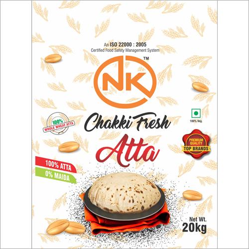 20 Kg Chakki Fresh Atta