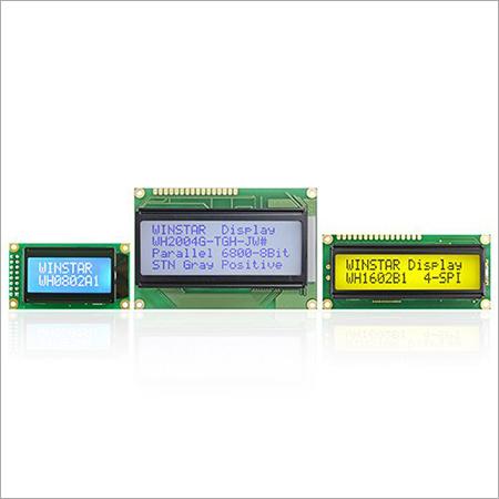 Character LCD Display Modules