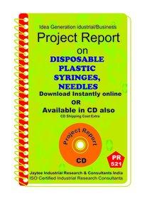 Disposable Plastic Syringes Needles manufacturing eBook