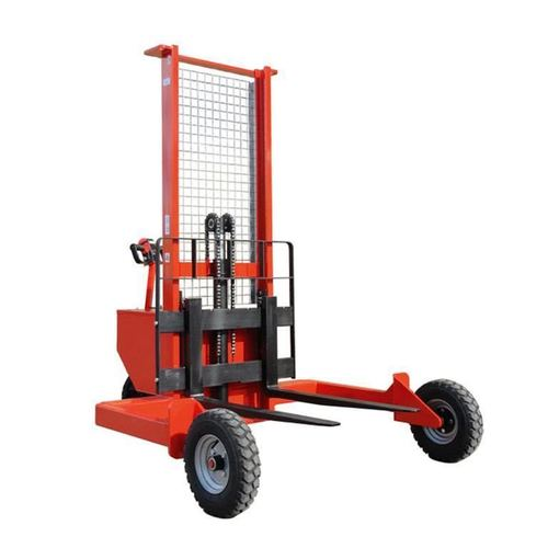 Stacker with Scooter Tyre