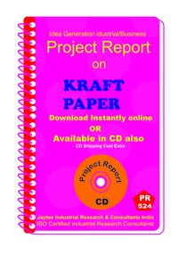 Kraft PaPer manufacturing Project Report eBook
