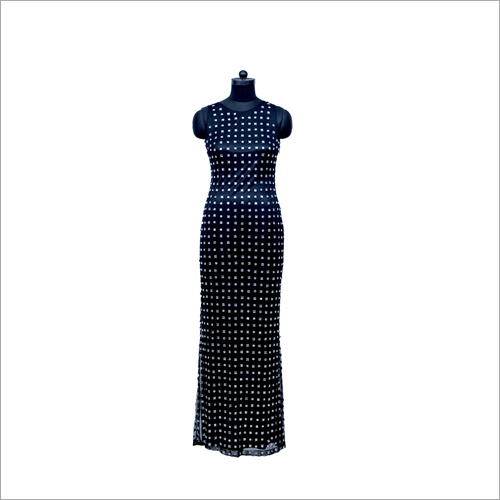 Ladies Printed Long Dress