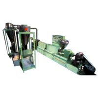 Vented Extruder For Reprocess